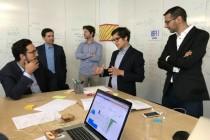 Le secrétaire d'Etat au numrique, Mounir Mahjoubi, était présent le 30 juin au hackathon énergie organisé à Paris.