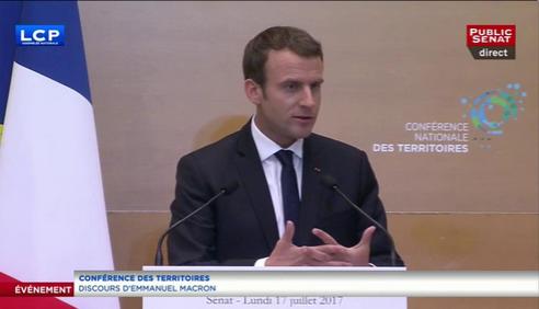 Macron CNT