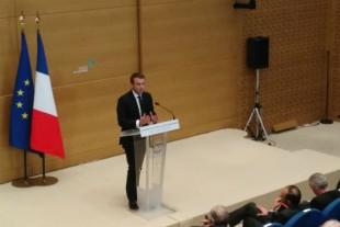 Emmanuel Macron à la Conférence nationale des territoires, en juillet dernier.