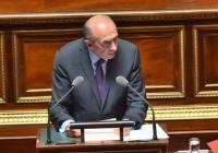 Gérard Collomb au Sénat le 18 juillet 2017.
