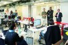 Laboratoire d'innovation, le SP Lab (ici, lors d'une visite du président du département Stéphane Troussel) travaille à l'amélioration des services publics.