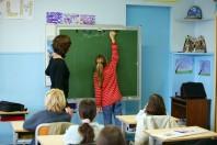élèves à l'école