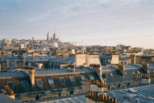 Des logements dans le nord de Paris, 2017.