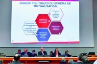L'observatoire fiscal réunit 57 des 90 communes membres de la métropole lilloise.