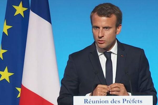 Emmanuel Macron devant les préfets - 4 septembre