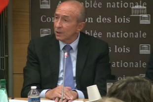 Gérard Collomb devant la commission des Lois 12 septembre 2017