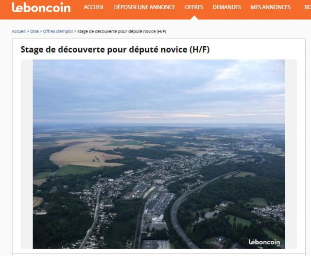 Sur Le Bon Coin Un Maire Propose Un Stage De Découverte De