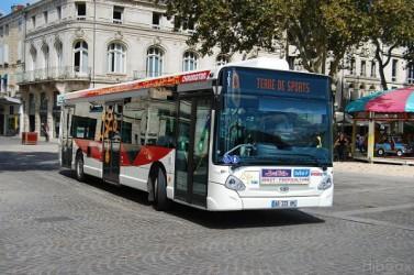 Bus Chronotan, à la place la brèche à Niort