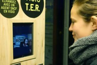 Prototype de systeme de visio pour voyageurs, testŽ en Bretagne