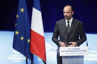 Congrès de l'ADF : Edouard Philippe maintient les départements dans le flou