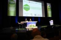 Un échange lors du 6ème Congrès national du Bâtiment Durable, à Dijon-Chenôve.