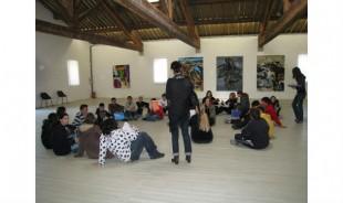 Médiation culturelle au Musée-d'art contemporain de Sigean (Aude)