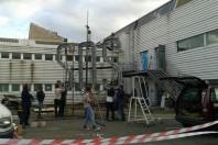 Artistes sur le site de Cap Gaillard, à Montreuil