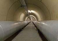 Tunnel de chauffage urbain, sous le Rhin à Cologne