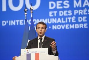 Emmanuel Macron  100e Congrès des maires 2017