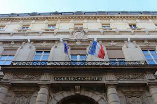 Paris, la Cour des Comptes