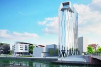 Réconcilier grande hauteur et développement durable, c'est ce que promettent les nouvelles tours (ici, Elithis Danube, à Strasbourg).