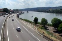 L'autoroute A7 à Valence