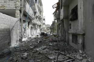 Syrie destruction Homs guerre
