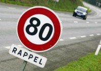 Les sénateurs demandent de réserver la limitation à 80 km/h aux routes les plus accidentogènes
