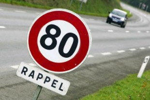 limitation vitesse panneau 80