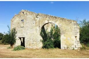 6X 400 Ruines ancienne commanderie d'Arveyres (Gironde) cr Nataloche CCBYSA4