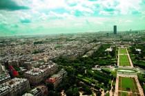 Vue a̩rienne Paris