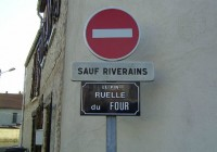 Sauf riverains
