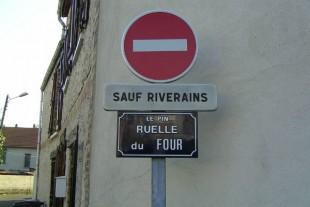 Sauf riverains