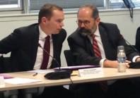 Olivier Dussopt prend le pouls de la territoriale au Conseil sup'