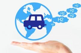 véhicule roulant à l'hydrogene