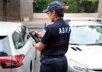 Verbalisation par ASVP (agent de surveillance de la voie publique).