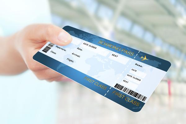 ticket de voyage
