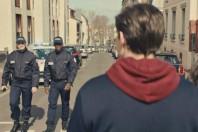 Extrait du spot télévisé de la campagne de recrutement de la police nationale.