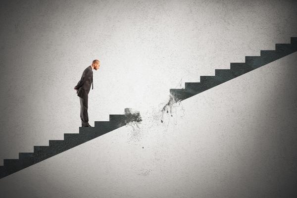 escalier rompu