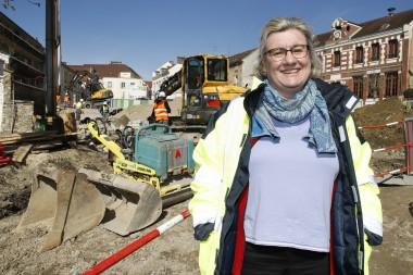 Hélène Fraboul, chef du service Assainissement à l'agglomération Plaine Vallée.