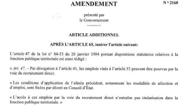Amendement n° 2160 - 7 juin 2018