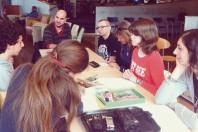A Toulouse, la médiathèque José Cabanis organise des  ateliers sur les médias.