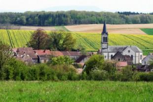 Viullage d'Amange (Jura)