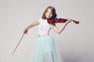 Culture enfant violon fille