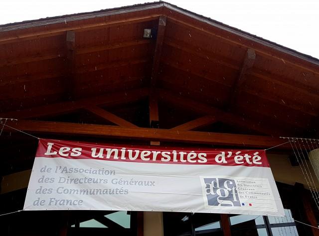 Universités été ADGCF 2018