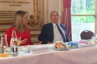 Sylvie Goy-Chavent et Bernard Cazeau