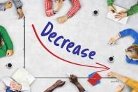 Diminution / decrease