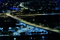 """Pont Mathilde à Rouen. Sa fermeture il y deux ans a été une catastrophe car la ville a été embolisée par des circulations parasites"""", selon Philippe Duron, ex député du Calvados et ancien maire de la ville."""