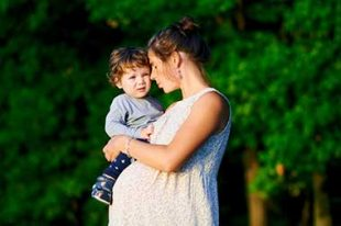 Maman grossesse enfant