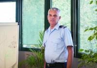 Colonel GrŽgory Allione, directeur du Sdis 13 (service dŽpartemental d'incendie et de secours)
