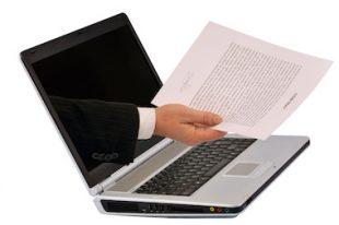 Documents en ligne - dématérialisation