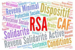 RSA, revenu solidarité active aide sociale