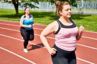 Females running