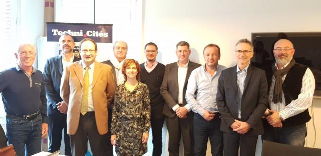 Le jury de la deuxième édition des Trophées de l'ingénierie territoriale.